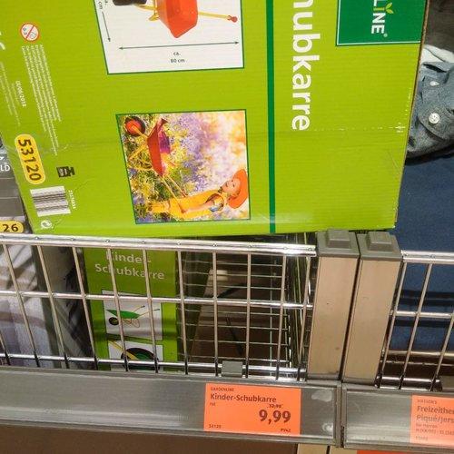 GARDELINE Kinder-Schubkarre - jetzt 23% billiger