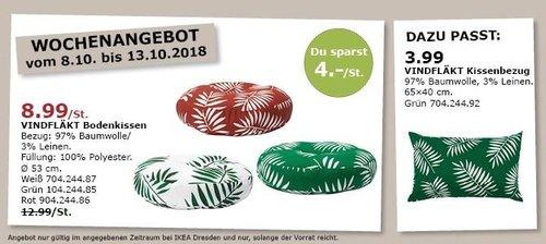 IKEA Dresden - VINDFLÄKT Bodenkissen - jetzt 31% billiger