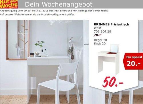 IKEA Erfurt - BRIMNES Frisiertisch - jetzt 29% billiger