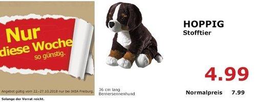 IKEA Freiburg - HOPPIG Stofftier Bernersennenhund - jetzt 38% billiger