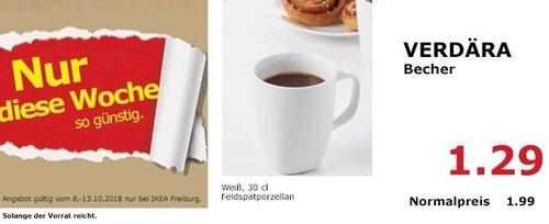 IKEA Freiburg - VERDÄRA Becher - jetzt 35% billiger