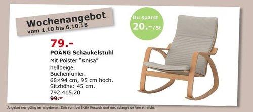 IKEA Rostock - POÄNG Schaukelstuhl - jetzt 20% billiger