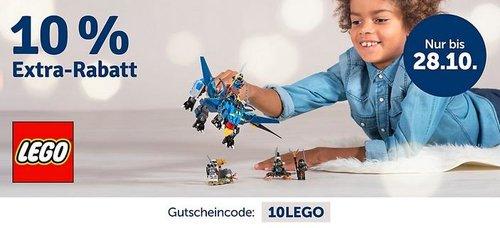 myToys.de 10% Extra-Rabat auf LEGO: z.B.Schulranzenset LEGO EASY Friends Cup Cake, 3-tlg. - jetzt 10% billiger
