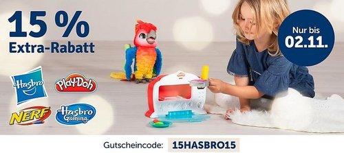 myToys.de 15% Extra-Rabat auf Artikel der Marke Hasbro: z.B. Hasbro FurReal Friends JJ, mein hopsender Mops - jetzt 14% billiger