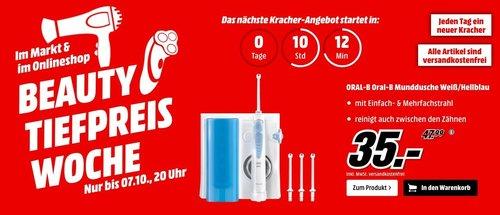 ORAL-B Oral-B Munddusche in Weiß/Hellblau - jetzt 22% billiger