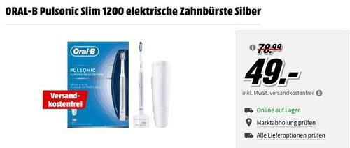 ORAL-B Pulsonic Slim 1200 elektrische Zahnbürste - jetzt 37% billiger