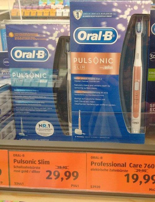 Oral-B Pulsonic Slim Elektrische Schallzahnbürste - jetzt 23% billiger