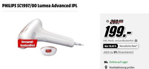 PHILIPS SC1997/00 Lumea Advanced IPL Haarentfernungsgerät - jetzt 17% billiger