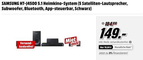 SAMSUNG HT-J4500 5.1 Heimkino-System - jetzt 11% billiger