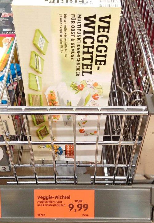 Veggie-Wichtel Multifunktions- Obst und Gemüseschneider - jetzt 23% billiger