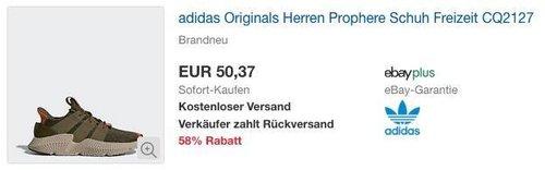 adidas Originals Herren Prophere Schuh (CQ2127) - jetzt 41% billiger