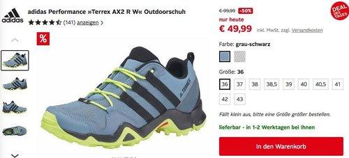 "adidas Performance ""Terrex AX2 R W"" Damen Outdoorschuh - jetzt 20% billiger"
