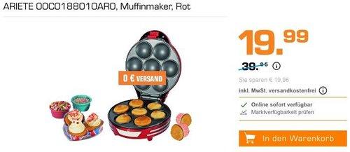 Ariete 188 Muffin mit Cupcake Maker - jetzt 17% billiger