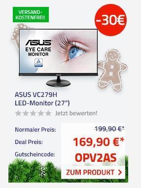 "ASUS VC279H (27"") 68,6 cm LED-Monitor - jetzt 15% billiger"