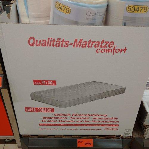 DORMIA Matratze 90x200 cm - jetzt 17% billiger
