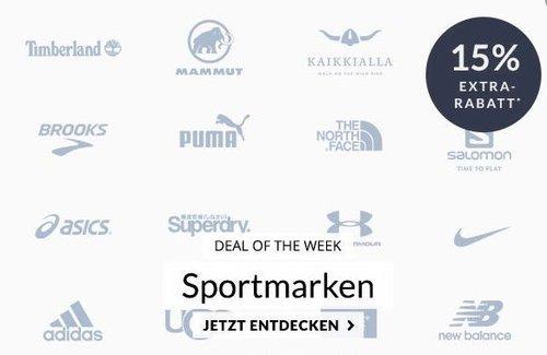 """Engelhorn - 15% Extra-Rabatt auf ausgewählte Sportmarken: z.B. Nike Herren T-Shirt """"Dry Athlete"""" Olive - jetzt 13% billiger"""