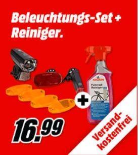 FISCHER 85345 Fahrrad Aufrüst-Set inkl. NIGRIN Evo Tec Fahrrad-Reiniger - jetzt 23% billiger
