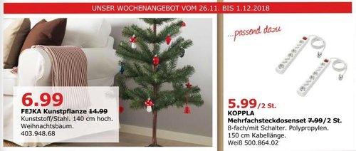 IKEA Düsseldorf - FEJKA Weihnachtsbaum (Kunstpfranze) 140 cm hoch - jetzt 53% billiger