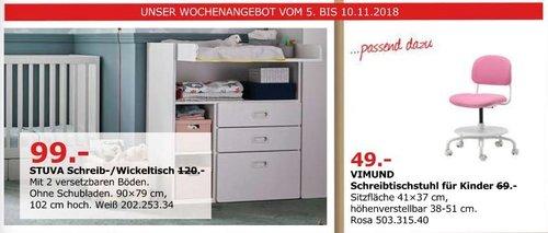 IKEA Düsseldorf - STUVA Schreib-/Wickeltisch - jetzt 18% billiger