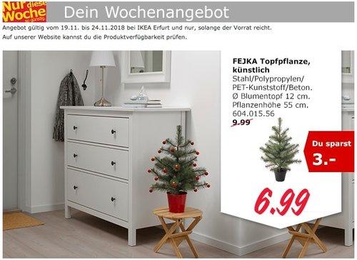 IKEA Erfurt - FEJKA Weihnachtsbaum,  künstlich - jetzt 30% billiger