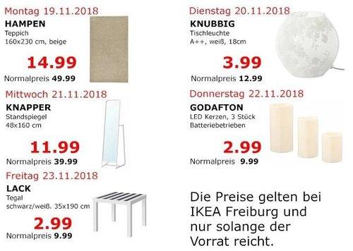 IKEA Freiburg - KNAPPER Standspiegel - jetzt 70% billiger