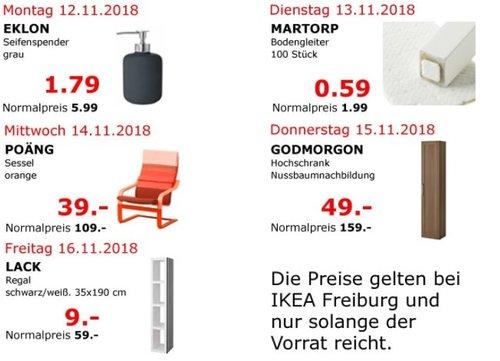 IKEA Freiburg - POÄNG Sessel, orange - jetzt 64% billiger