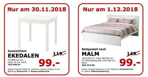 IKEA Koblenz - EKEDALEN Ausziehtisch - jetzt 17% billiger