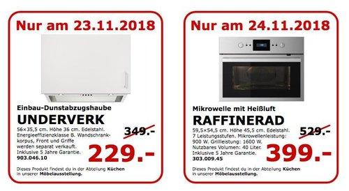 IKEA Koblenz - UNDERVERK Einbau-Dunstabzugshaube - jetzt 34% billiger