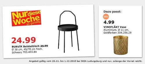 ikea ludwigsburg burvik beistelltisch s f r 24 99 17. Black Bedroom Furniture Sets. Home Design Ideas