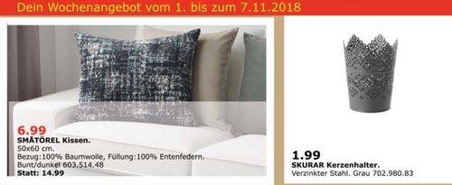 IKEA Oldenburg - SMATÖREL Kissen - jetzt 53% billiger