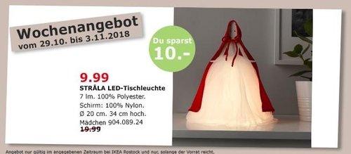 IKEA Rostock - STRALA LED-Tischleuchte, Mädchen, 34 cm hoch - jetzt 50% billiger