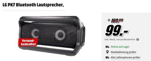 LG PK7 Bluetooth Lautsprecher in Schwarz - jetzt 17% billiger