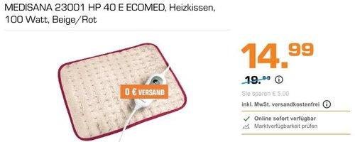 MEDISANA 23001 HP 40 E ECOMED Heizkissen - jetzt 25% billiger