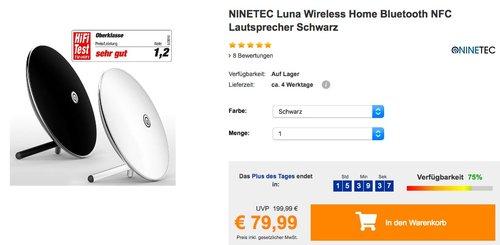 NINETEC Luna Bluetooth-Lautsprecher - jetzt 11% billiger
