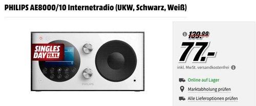 PHILIPS AE8000/10 Internetradio,  DAB+, UKW - jetzt 30% billiger