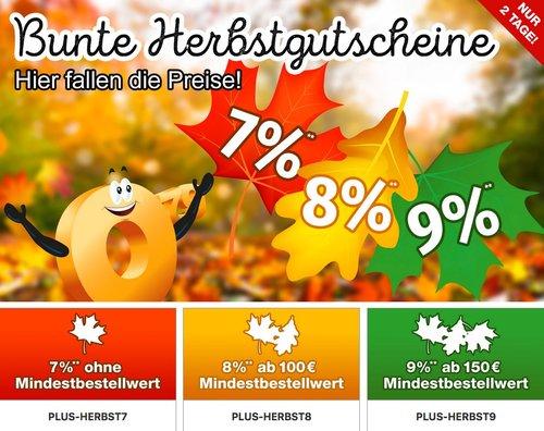 Plus.de - bis zu 9% Rabatteauf fast alles: z.B. Clatronic MWG 788 H Mikrowelle mit Grill und Heißluft - jetzt 8% billiger