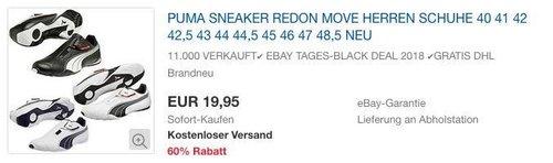 Puma Redon Move Herren Sneaker - jetzt 9% billiger