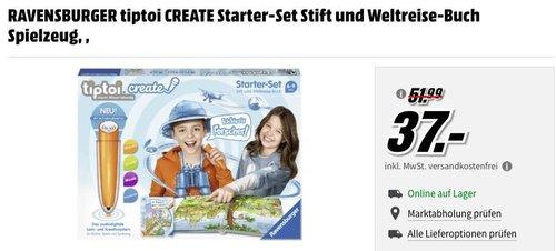 RAVENSBURGER tiptoi CREATE Starter-Set Stift und Weltreise-Buch - jetzt 7% billiger