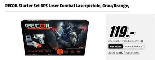 RECOIL Starter Set GPS Laser Combat Laserpistole - jetzt 7% billiger