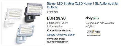 Steinel LED-Strahler XLED Home 1 Slave - jetzt 25% billiger