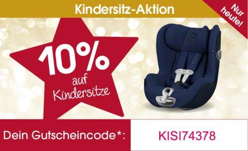 Babymarkt.de - 10% Rabatt auf Kindersitze: z.B. Kiddy Kindersitz Phoenixfix 3 Mystic Black - jetzt 10% billiger