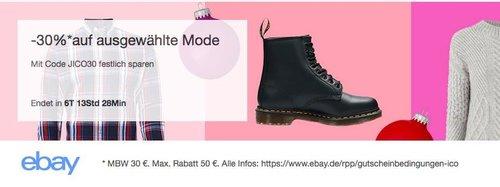 Ebay - 30% Rabatt auf Mode: z.B. Esprit Oversized Damen Jacke mit Allover-Muster - jetzt 30% billiger