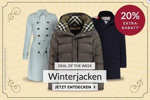 """Engelhorn - 20% Extra-Rabatt auf ausgewählte Winterjacken: z.B.  Gant Herren Daunenjacke """"The Airlight"""" - jetzt 20% billiger"""