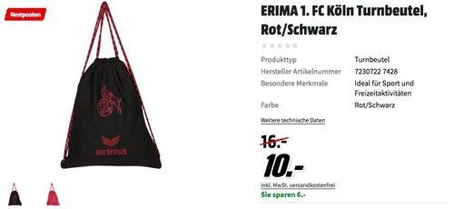 ERIMA 1. FC Köln Turnbeutel - jetzt 38% billiger