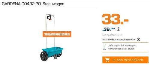 GARDENA Streuwagen L 12.5 Liter (00432-20 ) - jetzt 13% billiger