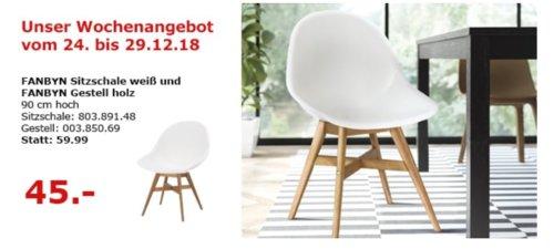 IKEA Berlin-Waltersdorf - FANBYN Stuhl, weiß - jetzt 25% billiger