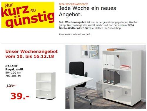 IKEA Berlin-Waltersdorf - GALANT Regal, 80x120 cm - jetzt 64% billiger