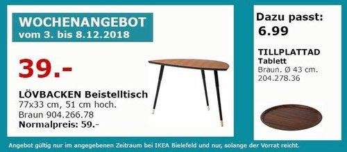 IKEA Bielefeld - LÖVBACKEN Beistelltisch, braun - jetzt 34% billiger
