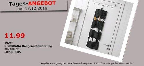 IKEA Braunschweig - NORDRANA Hängeaufbewahrung - jetzt 40% billiger
