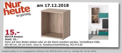 IKEA Brinkum - BESTA Korpus, 60x40x64 cm - jetzt 40% billiger